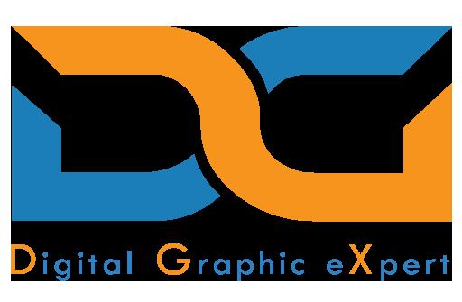 Digital Graphic Design Logo